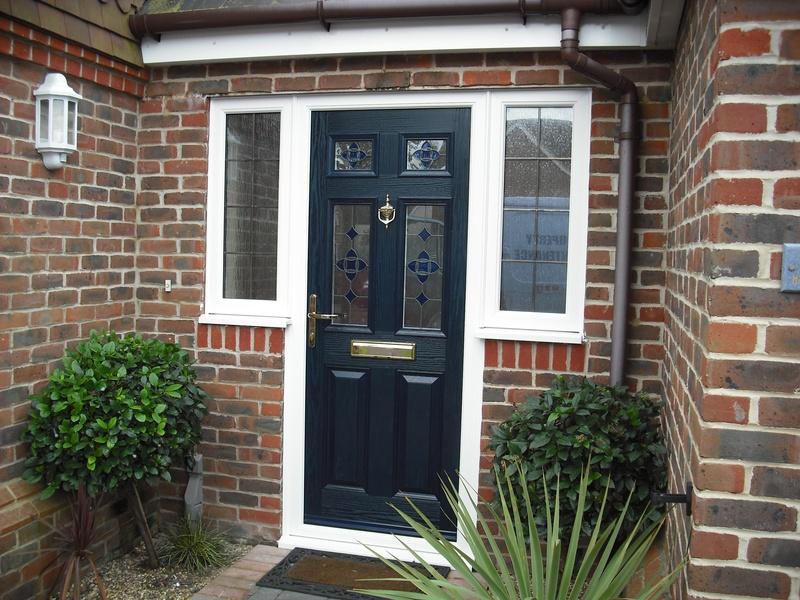 New door and windows.